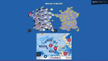 bulletin meteo de mardi 11 mai 2021