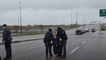 The dramatic arrest of a Canadian pastor in the middle of the road