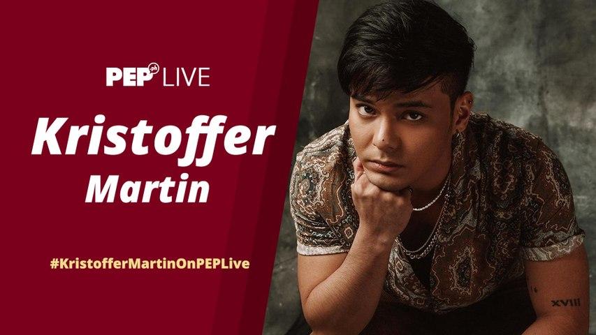 WATCH: Kristoffer Martin on PEP Live!