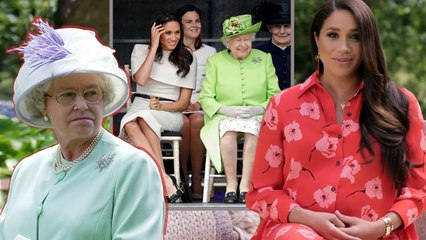 Queen furies broke everything As Meghan looked 'nervous' in first TV appearance As Future Queen