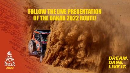 #Dakar2022 - The presentation of the official Dakar 2022 route live!