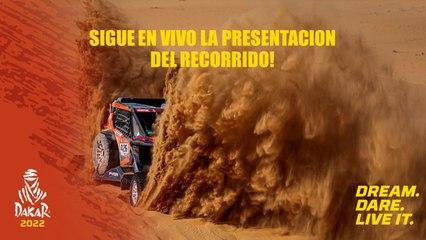 #Dakar2022 - La presentación del recorrido!