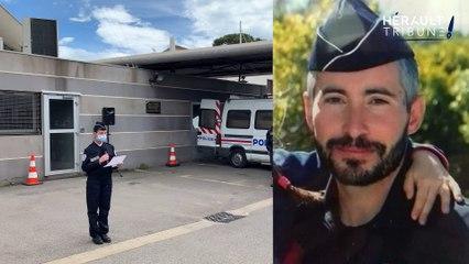 Agde : les autorités rendent hommage au policier Eric Masson