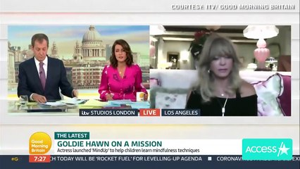 Goldie Hawn On Her Past Battle w Depression