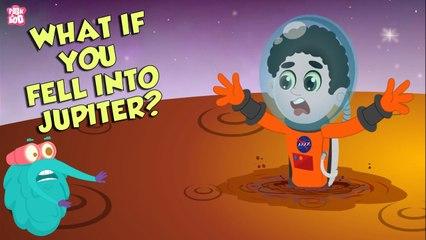 What if You Fell Into Jupiter?   Space Video   Planet Jupiter   Dr Binocs Show   Peekaboo Kidz