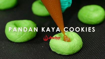Pandan Kaya Cookies