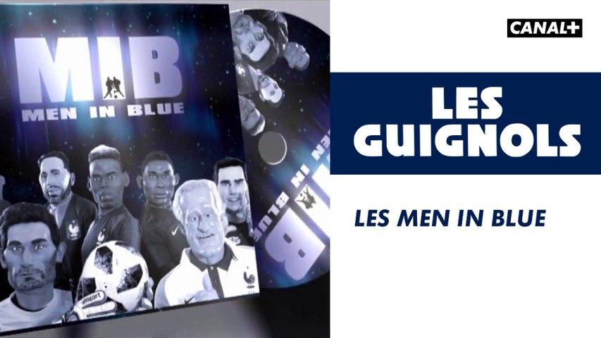 Les Men in Blue - Les Guignols - CANAL+
