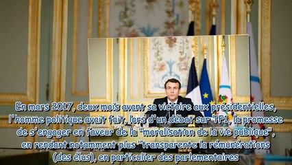 """Emmanuel Macron - ce refus """"révélateur"""" de l'Elysée à propos de son salaire"""