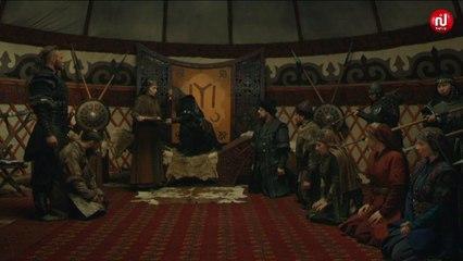 المغول يكتشف وضع سالجان للسم في لبنه