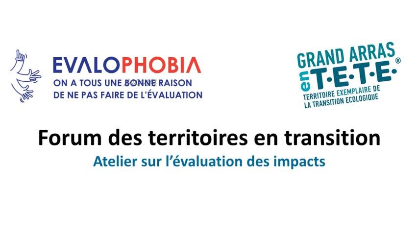 Atelier Evaluation | Forum des Territoires en Transition (CGDD)