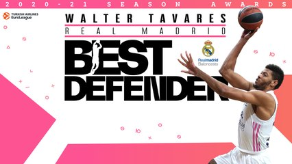 Real's Tavares repeats as EuroLeague Best Defender