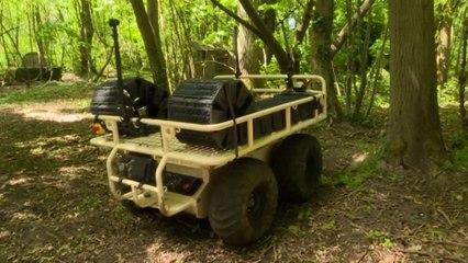 Les robots-mules, ces drones terrestres testés par l'armée française