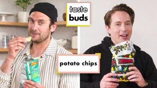 Beck Bennett & Brad Try 10 Kinds of Potato Chips