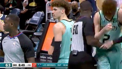 LaMelo Ball Gets WILD Technical Foul For Aggressively PUSHING A Referee