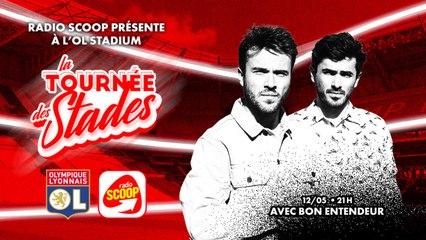Le DJ SET de Bon Entendeur au stade de l'Olympique Lyonnais   Radio SCOOP