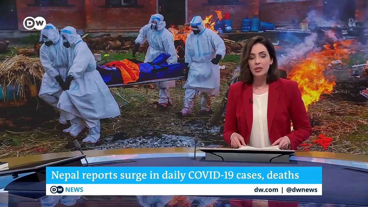 Skyrocketing COVID-19 deaths and infections in Nepal _ DW News