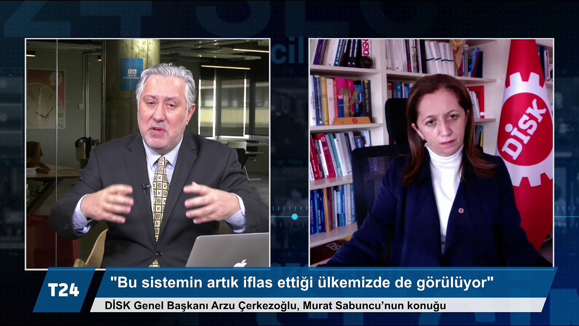 DİSK Genel Başkanı Arzu Çerkezoğlu: Bu sistemin vadedeceği bir şey kalmadı; sendikaların da özeleştirel bir yaklaşım içinde olması gerekir