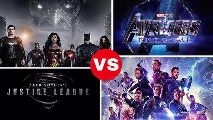 ZACK SNYDER`S JUSTICE LEAGUE VS AVENGERS END GAME HD / DC VS MARVEL / FLASH VS IRONMAN BEST COMEBACK
