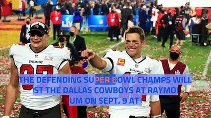 Buccaneers To Host Cowboys To Kick Off 2021 NFL Season