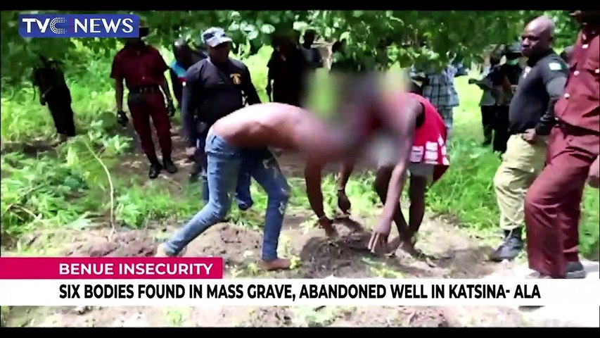 Six bodies found in mass grave, abandoned well in Katsina Ala
