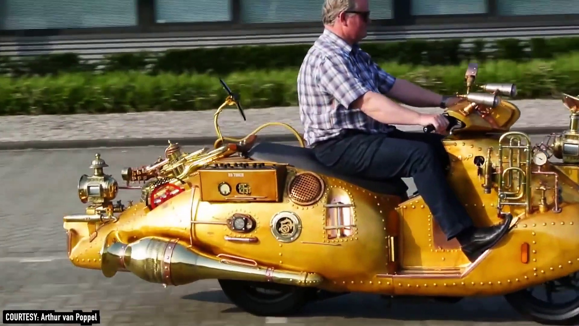 10 CRAZY MotorCycles