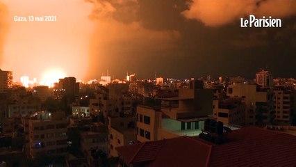 Tensions entre Israël et Palestine : à Gaza, les raids aériens s'intensifient