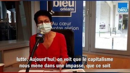 F. Megdoud, tête de liste Lutte Ouvrière aux Régionales en Centre-Val de Loire