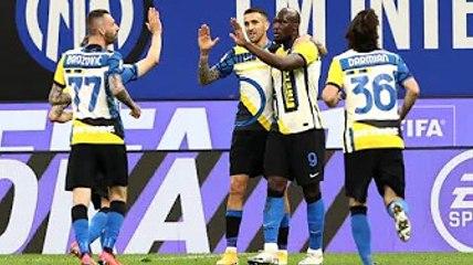 ✅  L'Inter sa solo vincere, i campioni d'Italia battono 3-1 la Roma: gol di Brozovic, Vecino e Lukak