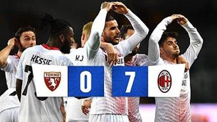 ✅  Milan esagerato: 7 gol ad un Torino assente e Champions più vicina