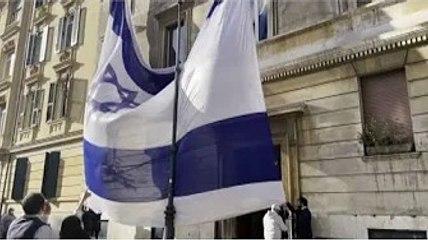 ✅  A Roma la manifestazione della comunità ebraica per Israele