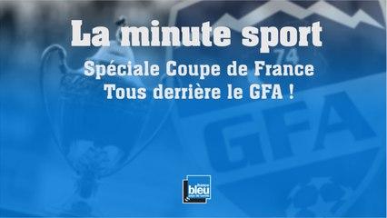 La minute sport, spéciale coupe de France