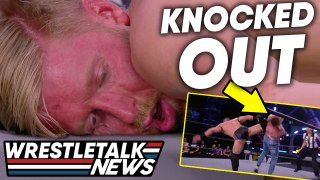 Scary In-Ring Injury Changes Top AEW Match, WWE Star Threatened | WrestleTalk