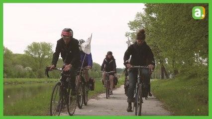 Cinq jours de vélo pour dire non aux centrales à gaz