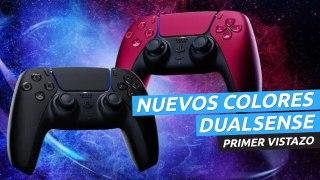 Nuevos colores para DualSense de PS5 - Mandos rojo y negro