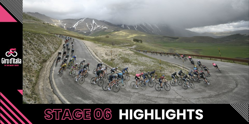 Giro d'Italia 2021 | Stage 6 | Highlights
