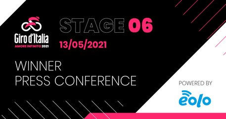 GIRO D'ITALIA 2021 | Stage 06 Press Conference