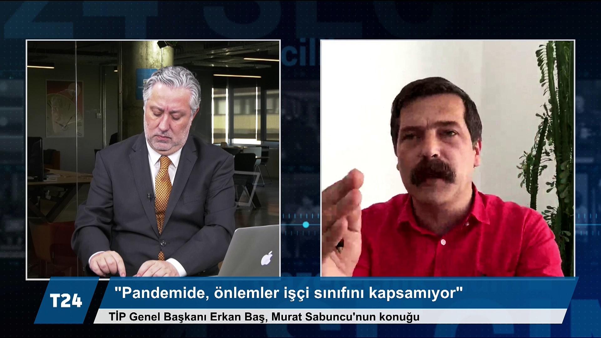 Erkan Baş: Muhalefet partileri, Türkiye'deki toplumsal hareketlerin yüzde biri kadar muhalefet yapamıyor