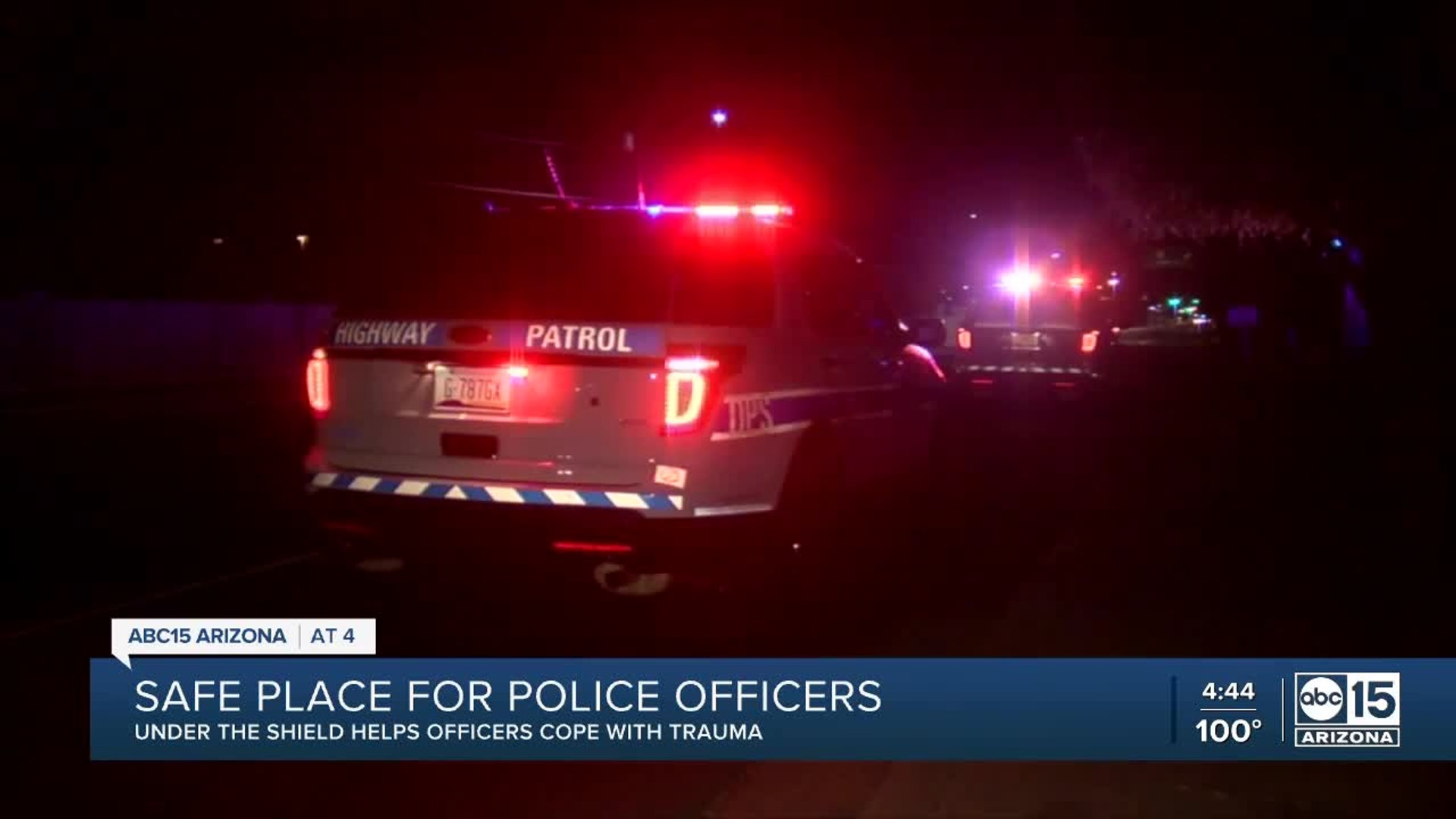 Valley non-profit helps police officers dealing with trauma