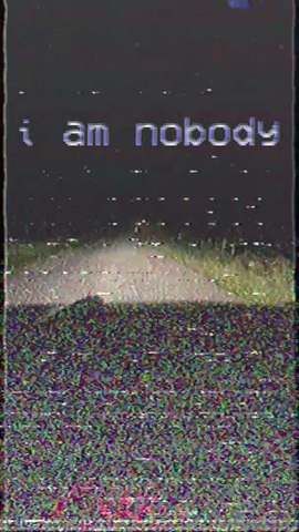 Axel St. Patience – Nobody (Vertical Lyric Video)