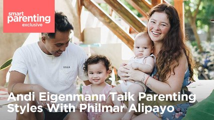 Andi Eigenmann Talk Parenting Styles With Philmar Alipayo | SP Exclusive