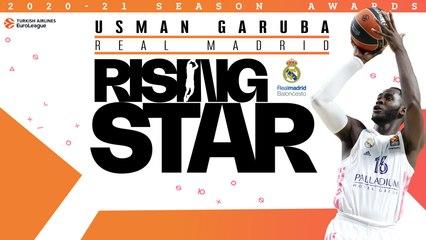 Rising Star Trophy winner: Usman Garuba, Real Madrid