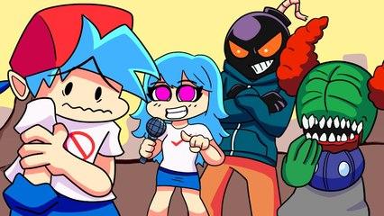 Friday Night Funkin' Logic, But Mods _ Cartoon Animation
