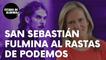 """La periodista Isabel San Sebastián fulmina al 'rastas' de Podemos: """"¡Hay que ser cobarde…!"""""""