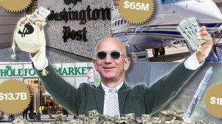 Estas son algunas de las compras más exageradas que ha realizado Jeff Bezos