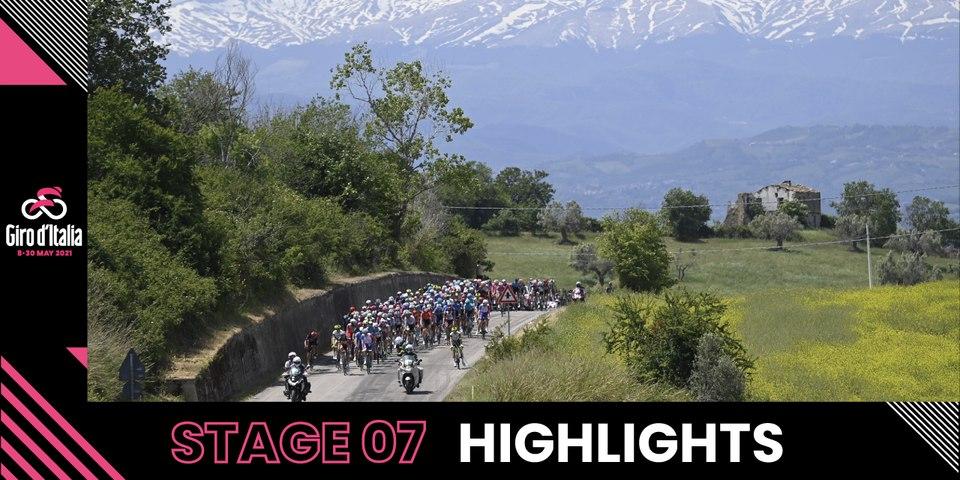 Giro d'Italia 2021 | Stage 7 | Highlights