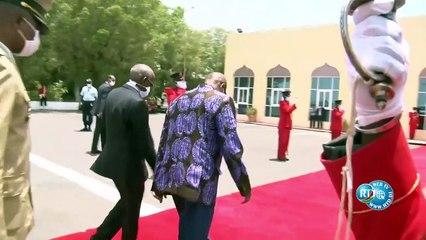 Alpha Condé est arrivé à Djibouti