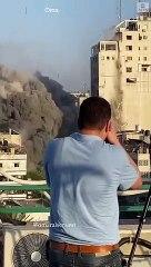 Gaza, il bombardamento di Israele - 15 Maggio 2021