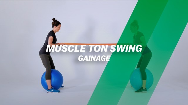 Muscle ton swing : gainage