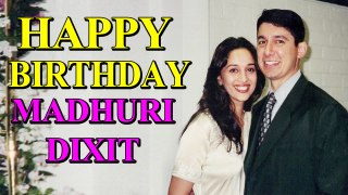 Shriram Nene posts a special birthday wish for his soulmate Madhuri Dixit