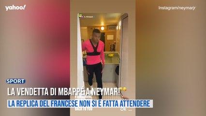 La vendetta di Mbappè a Neymar!